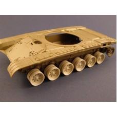 Panzer ART 1/35 Конверсия: выгоревшие Колёса Т-72. № PRA_RE35-027