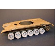 Panzer ART 1/35 Конверсия: колёса для танка Т-72/90. № PRA_RE35-114