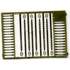 Armor Research 1:35  Фототравление для бронетехники США - ремни и пряжки № 1009