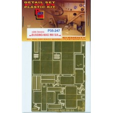 Part 1/35 Фототравление для автомобиля Bussing-NAG 500 S/A Side Boxes (IBG kit). № P35-247
