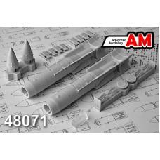 Advanced Modeling 1/48 Советские корректируемые авиационные бомбы КАБ-1500Л с лазерной подсветкой цели. № AMC 48071