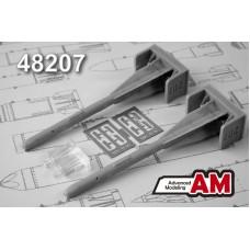 Advanced Modeling 1/48 Советские авиационные управляемые ракеты Р-60 класса «Воздух-Воздух»1. № AMC 48207