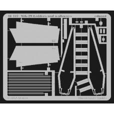 Eduard 1/48 Фототравление трапики и лестница для МиГ-29. № 48437