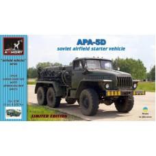 Armory Models Group 1/72 Конверсионный набор: Авиационный подвижный электроагрегат АПА-5Д. № 72302