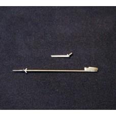 "Mini World 1:72 Трубка Пито, антена для MиГ-21Ф  ""Modelsvit"". № A7248a"