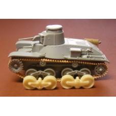 ModellTrans 1/72 Катки для танка Ha-Go (Манчжурская версия) (конверсионный набор). № MT72369