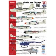 CtA 1/72 Декаль «Австралийцы над морями», Королевский австралийский военно-морской флот, палубная авиация. № CtA-007