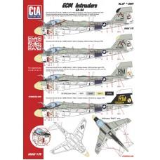 "CtA 1/72 Декаль ""ECM Intruders"" - Grumman EA-6A. № CtA-027"