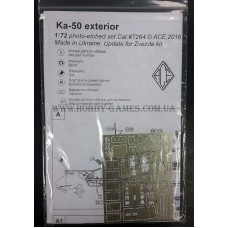 ACE 1/72 Фототравление для вертолёта Ка-50 (экстерьер). № PE7264