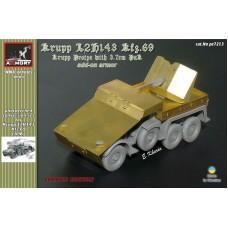 Armory Models Group 1/72 Фототравление: для немецкого бронированного грузовика Kfz.69 Krupp Protze с орудием 37mm Pak 35/36. № pe7213