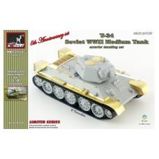 Armory Models Group 1/72 Фототравление: дополнительная детализация для советского танка Т-34/76. № pe7223