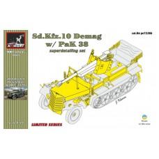 Armory Models Group 1/72 Фототравление: для немецкого Sd.Kfz.10 с ПТ орудием PaK 38. № pe7226b