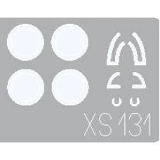Eduard 1/72 Маски для самолета Поликарпов И-16 (ЦКБ-12). № XS131