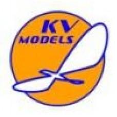 "KV Models 1/72 Маска-трафарет для самолёта Fairchild C-123/HC-123 ""Provider"" (Roden). № 72141-1"