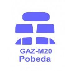 "KV Models 1/72 Маска-трафарет для автомобиля Газ-М20 ""Победа"" (Military Wheels). № 72306"