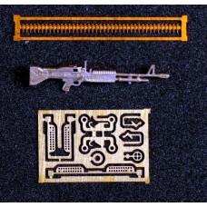 Mini World 1:72 Американский единый пулемет M60 7.62мм. № A7245a