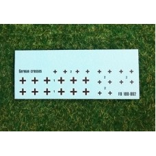 Foxbot 1/100 Декаль: Немецкие кресты «Балканский крест». № FOX_100-002
