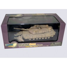 Dragon Armor 1:72 Американский танк M1A1HA Abrams с противоминным плугом, Mojave 1996. № 60018