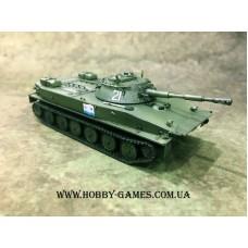 1/72 Советский плавающий танк ПТ-76Б. № 72053R