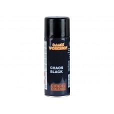Chaos Black Spray / Черный, матовый грунт (62-02)