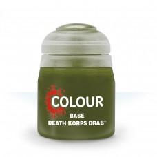 Citadel Base: Акриловая краска Death Korps Drab 9918995012206