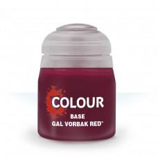 Citadel Base: Акриловая краска Gal Vorbak Red 9918995012306