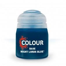 Citadel Base: Акриловая краска Night Lords Blue 9918995012406