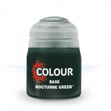 Citadel Base: Акриловая краска Nocturne Green 9918995012506