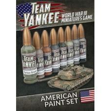Flames of War 1/100 Набор красок для американской техники Team Yankee (8 красок). TYP190