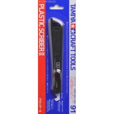 Tamiya: Craft Tools Plastic Scriber II / Инструмент-Скрабер. 74091
