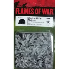 Flames of War 1/100 Американский взвод морской пехоты (Marine Rifle Platoon). US772