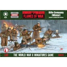 Flames of War 1/100 Американская рота в зимней форме (Rifle Company Winter Uniform). UBX35