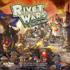 "CoolMiniOrNot: ""Rivet Wars: Eastern Front"" board game. № CMO1"