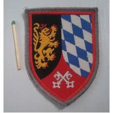 Нашивка German 12 Panzer Brigade Arm Badge Patch. № S008