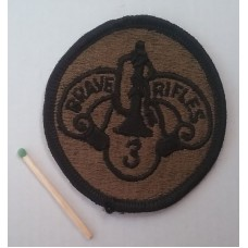 Нашивка US Army 3rd Cavalry Regiment Patch. № S007