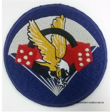 Нашивка U.S. Army 506th Airborne Infantry Regiment Patch. № S036