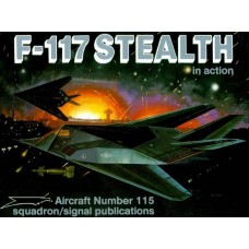Squadron Signal Book Lockheed F-117 Stealth in Action. № 1115