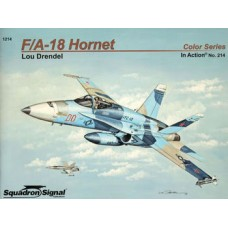 Squadron Signal Book F/A-18 Hornet in Action (Color Series). № 1214