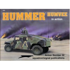 Squadron Signal Book Hummer Humvee in Action. № 2032