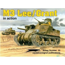 Squadron Signal Book M3 Lee/Grant in Action. № 2033