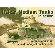 Squadron Signal Book Italian Medium Tanks in Action. № SQS_2039