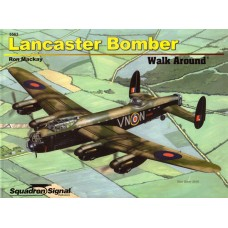 Squadron Signal Book Lancaster Bomber Walk Around. № 5563