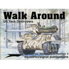 Squadron Signal Book US Tank Destroyers Walk Around. № SQS_5703
