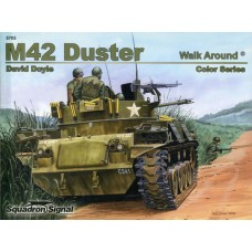 Squadron Signal Book M42 Duster Walk Around (Color Series). № 5705