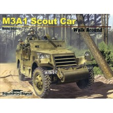 Squadron Signal Book M3A1 White Scout Car Walk Around (Color Series). № SQS_5720