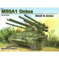 Squadron Signal Book M50a1 Ontos Detail in Action. № 5901