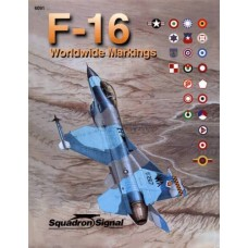 Squadron Signal Book F-16 Worldwide Markings. № 6091