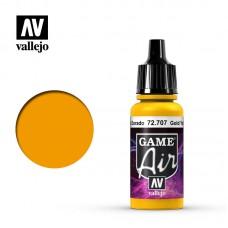 Acrylic Vallejo: Game Air Акриловая краска Gold Yellow (Золотой Жёлтый). 72707