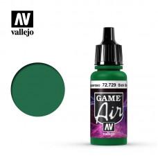Acrylic Vallejo: Game Air Акриловая краска Sick Green (Болезненно-Зелёный). 72729