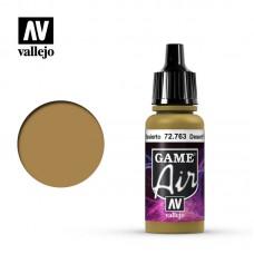 Acrylic Vallejo: Game Air Акриловая краска Desert Yellow (Пустынный Жёлтый). 72763